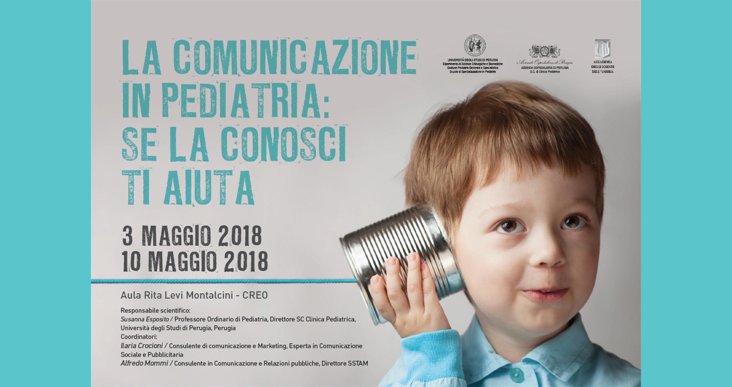 Corso Comunicazione pediatria Perugia 2018