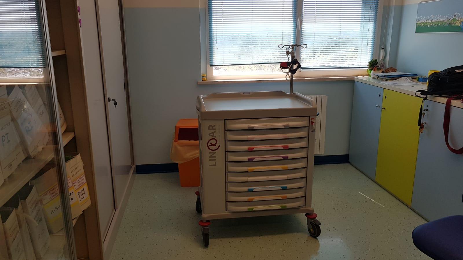 aBm dona nuovi macchinari alla Clinica Pediatrica di Perugia