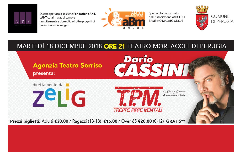 Spettacolo Dario Cassini